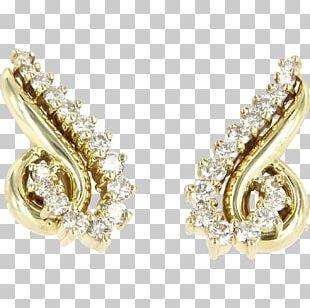 Earring Gold Jewellery Carat Designer PNG