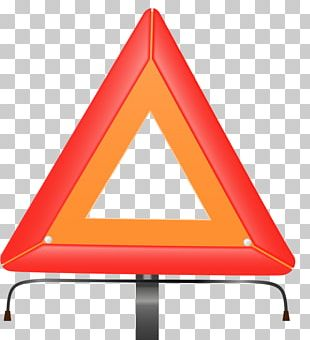Triangle Orange PNG