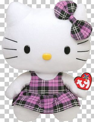 Stuffed Animals & Cuddly Toys Ty Inc. Beanie Babies Hello Kitty PNG