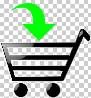 Shopping Cart Graphics Bag PNG
