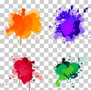 Splash Paint Illustration PNG