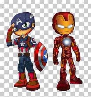 Captain America Iron Man Spider-Man Drawing Superhero PNG