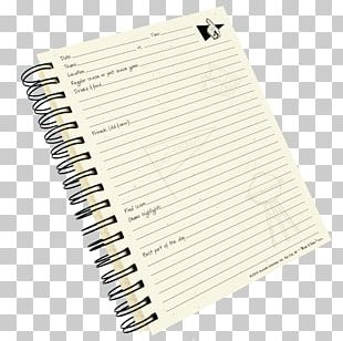 Notebook Paper Diary Hardcover PNG