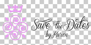 Save The Dates By Karen Logo Wedding Planner PNG