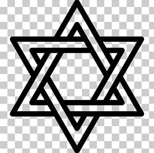 Judaism Star Of David Jewish Symbolism Religion PNG