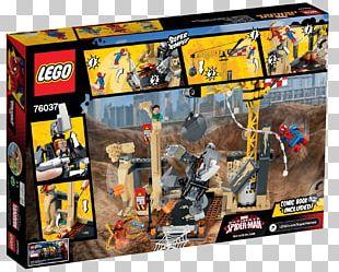 Sandman Lego Marvel Super Heroes Rhino Spider-Man Iron Man PNG
