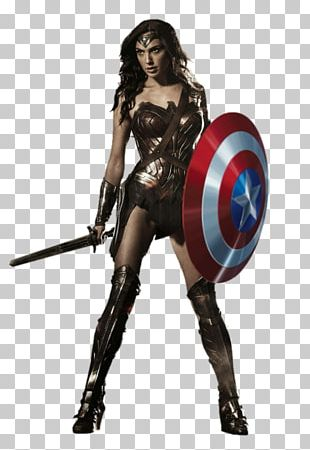 Wonder Woman Batman Superman Cyborg Female PNG