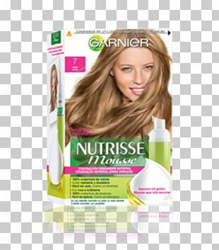 Hair Coloring Blond Garnier Human Hair Color PNG