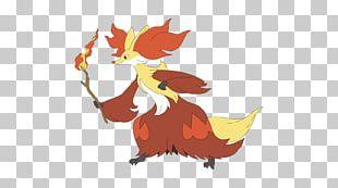 Pokémon X And Y Pokémon FireRed And LeafGreen Delphox Fennekin PNG