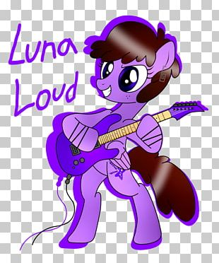My Little Pony Luna Loud Princess Luna Luan Loud PNG