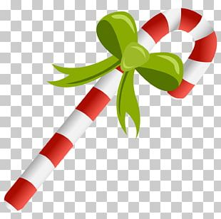 Christmas Ornament Candy Cane Bombka PNG