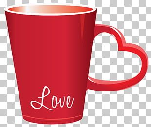 Cup Valentine's Day Heart PNG