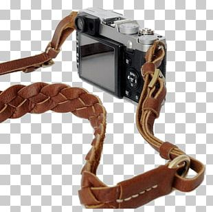 Strap Camera Cattle Leather Material PNG