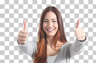 Thumb Signal Woman Stock Photography Gesture PNG