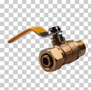 Ball Valve Brass PNG