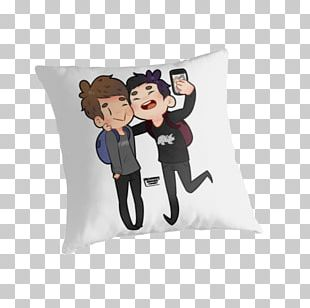 The Amazing Book Is Not On Fire Dan And Phil Drawing T-shirt YouTuber PNG