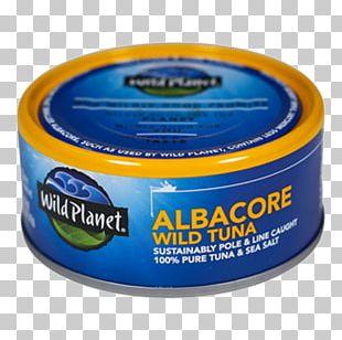 Albacore Tuna Salt Food Canned Fish PNG