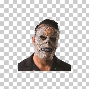 Slipknot Latex Mask Bassist Costume PNG