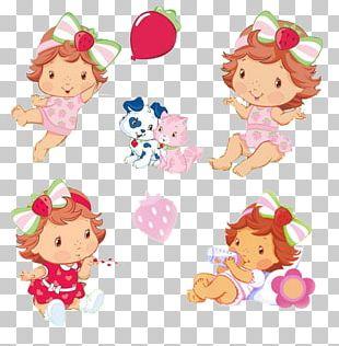 Strawberry Shortcake Child Photography PNG