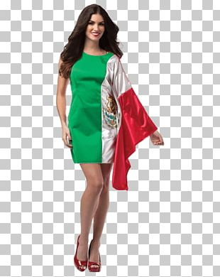 Flag Of Mexico Dress Flag Of The United States Costume PNG
