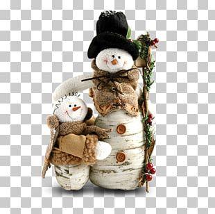 Snowman Christmas Gift PNG
