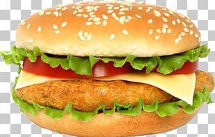 Cheeseburger Aloo Tikki Hamburger French Fries Burger King PNG