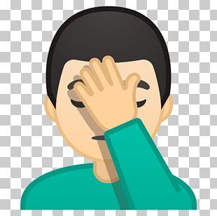 Emojipedia Facepalm Gesture Zero-width Joiner PNG