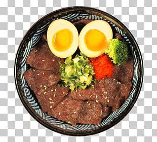Yakiniku Steak Full Breakfast Roast Beef Japanese Cuisine PNG