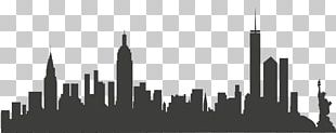 New York City Skyline PNG