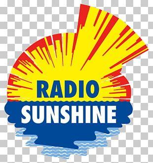 Radio Sunshine Graphics FM Broadcasting Logo PNG