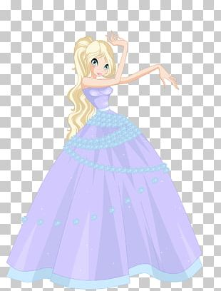 Bloom Dress Ball Gown PNG