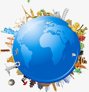Global Earth Globe Travel World Architecture PNG