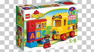LEGO 10603 DUPLO My First Bus Lego Duplo The Lego Group Toy PNG