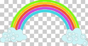 Rainbow Scalable Graphics Cloud PNG