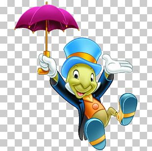 Jiminy Cricket The Talking Crickett The Adventures Of Pinocchio PNG