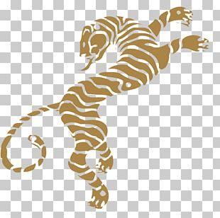 Tiger T-shirt Yin And Yang Sticker PNG