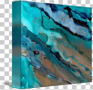 Water Modern Art Turquoise Modern Architecture PNG