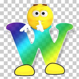 Smiley Letter Alphabet PNG