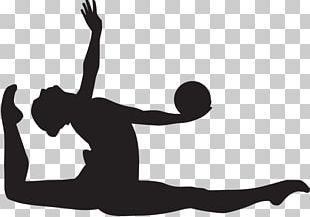 Rhythmic Gymnastics Sport Silhouette PNG