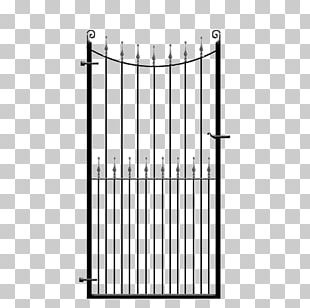 Gate Wrought Iron Fence Steel Iron Railing PNG