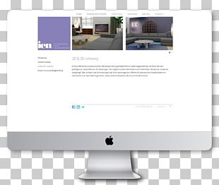 Responsive Web Design Content Home Page PNG