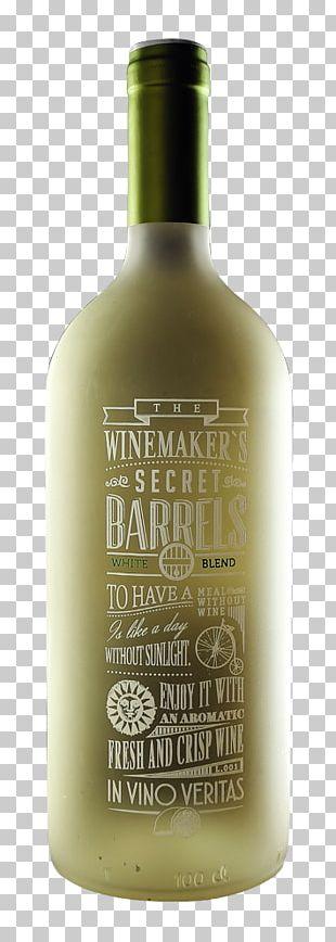 Liqueur Glass Bottle White Wine Pinot Gris PNG