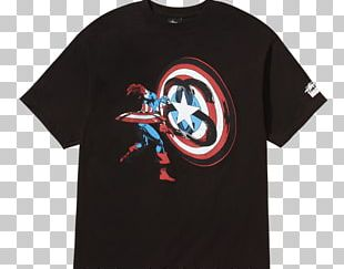 T-shirt Captain America Spider-Man Doctor Doom Marvel Comics PNG