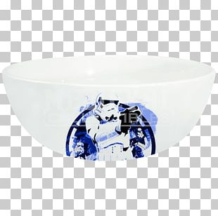 Bowl Ceramic Blue And White Pottery Cobalt Blue Textile PNG
