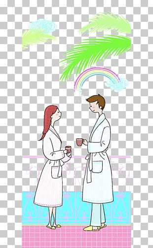 Cartoon Significant Other Illustration PNG