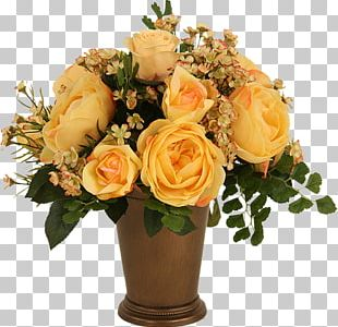 Garden Roses Vase Flower Portable Network Graphics Floral Design PNG