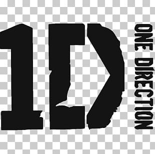 One Direction Logo Sticker Design Wall Decal PNG