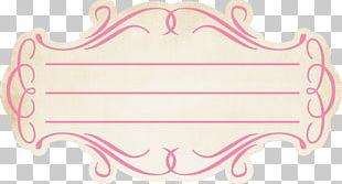 Digital Scrapbooking Label Embellishment PNG
