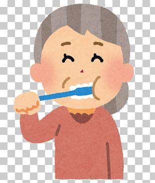 Tooth Brushing Toothpaste Dentist Old Age Mouth PNG
