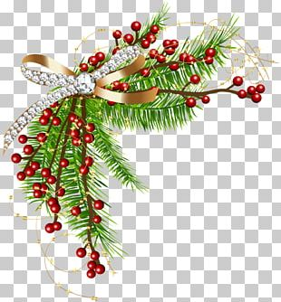 Christmas Decoration Garland Borders And Frames PNG